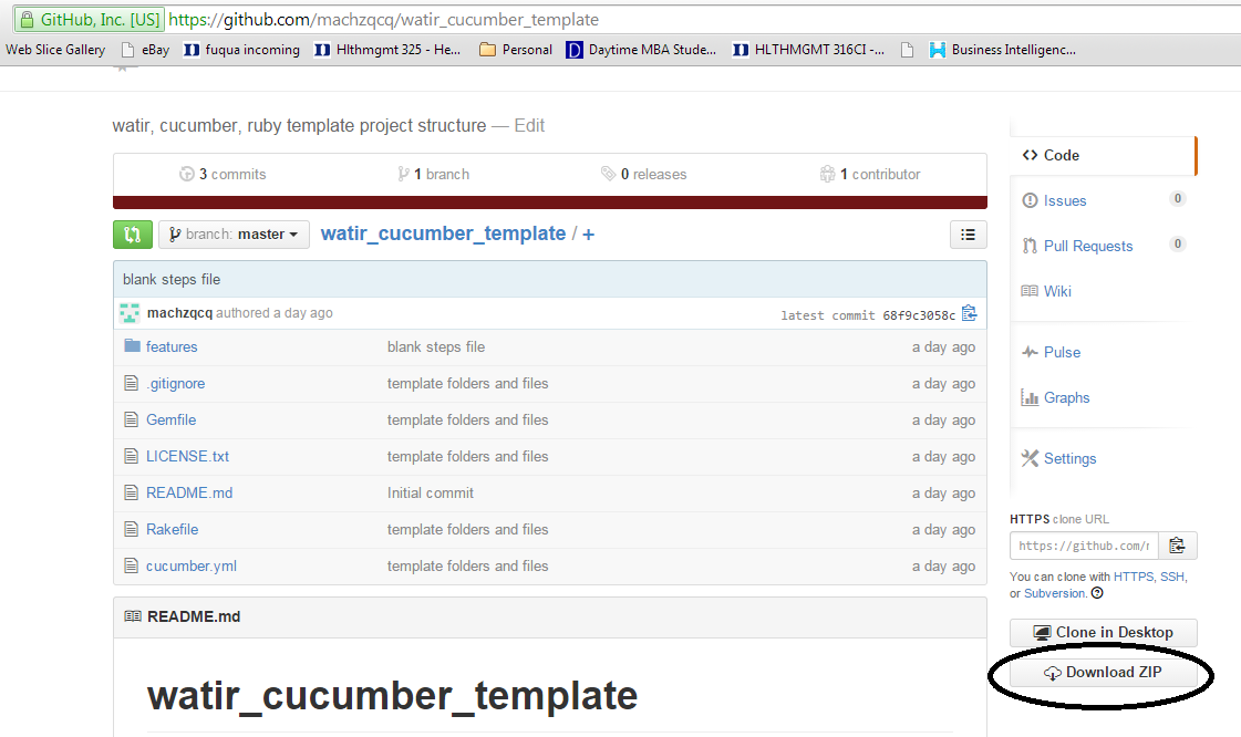 download_tempate_project