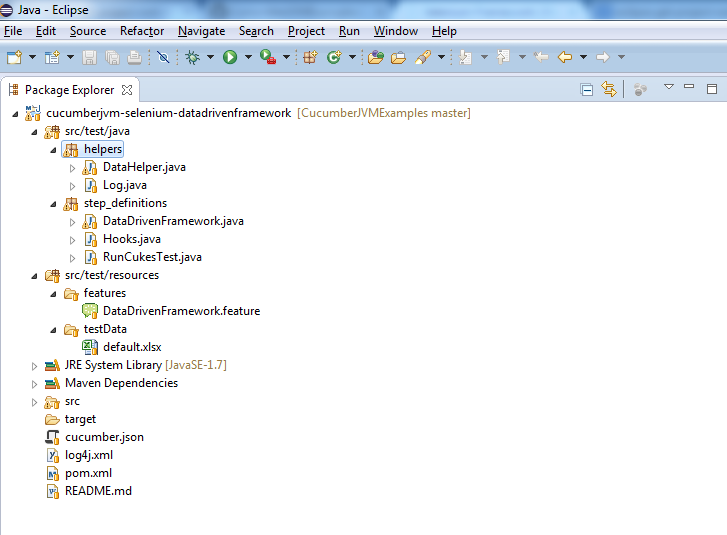 data_driven_eclipse_project_structure