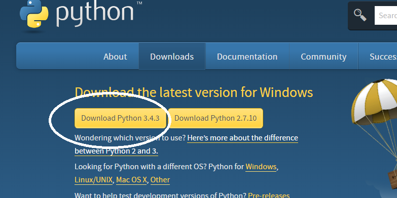 download_python