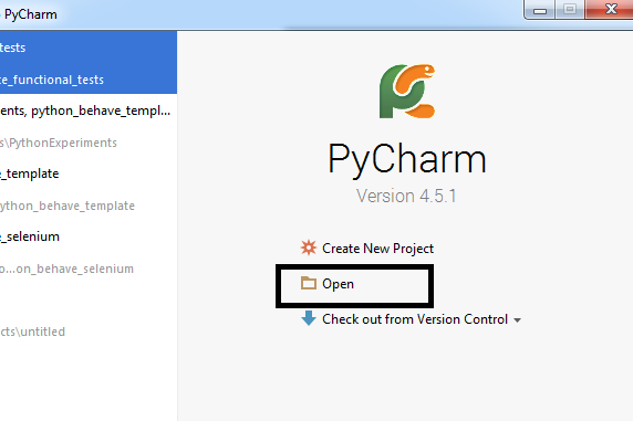 pycharm_open_python_template