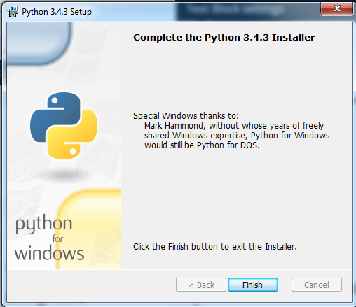 python_success_install